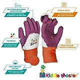 Kids Gardening Gloves by KIDDIE MASTER: 2-Pairs