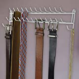 Evelots Tie Rack-Belt/Scarf/Necklace Wall