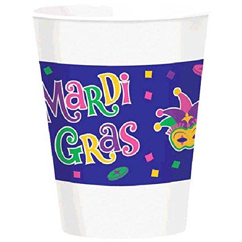 Mardi Gras Party Cups, 16 oz., 25 -