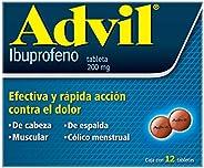 Advil Analgésico 200 mg Dolores Leves Caja con 12 tabletas