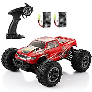 RC Cars Electric Helifar Remote Control Car for Kids 2.4Ghz Radio Controlled cars 1:16 Scale 4WD Remote Control Monster Trunk Off-Road Car High Speed Racing Vehicle for Children