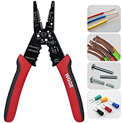 WGGE WG-015 Professional crimping tool / Multi-Tool Wire Stripper and Cutter (Multi-Function Hand Tool)