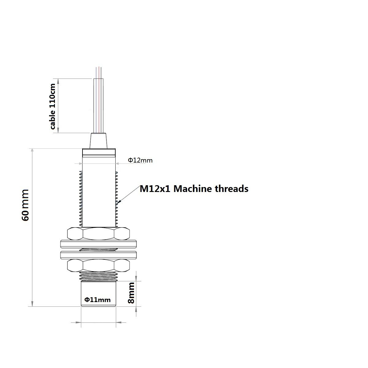 Trigorilla Lj12a3 4 Z Bx Inductive Proximity Sensor Ac Switch Wiring Diagram Npn Dc6 36v 3d Printer Bed Self Adjustment Industrial Scientific