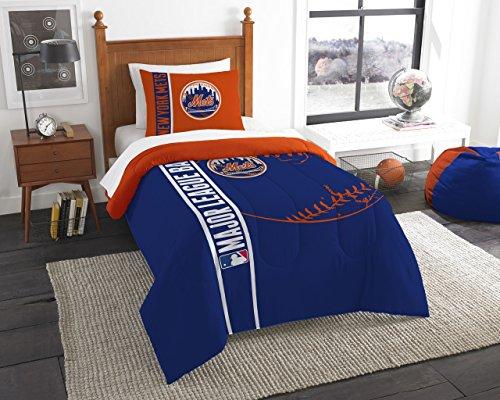 Northwest New York Mets MLB Twin Comforter Set New York Mets Sham