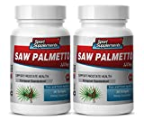 Saw palmetto with beta sitosterol - SAW PALMETTO BERRY EXTRACT 320 MG For Prostate and Urinary Tract Health - Prostate support for men - 2 Bottles 60 softgels