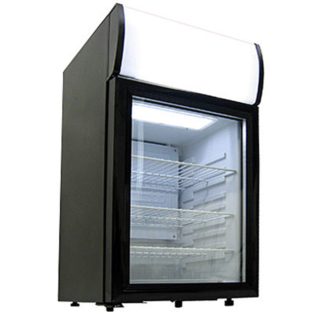【有名人芸能人】 中が見える  ディスプレイ 中が見える  冷蔵庫 黒 40L B07G93D7B9 / B07G93D7B9, トウホクマチ:45de48cc --- diesel-motor.pl