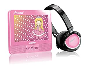 Wolder Princess Media 7.0 - Portátil Multimedia Princess + Auriculares