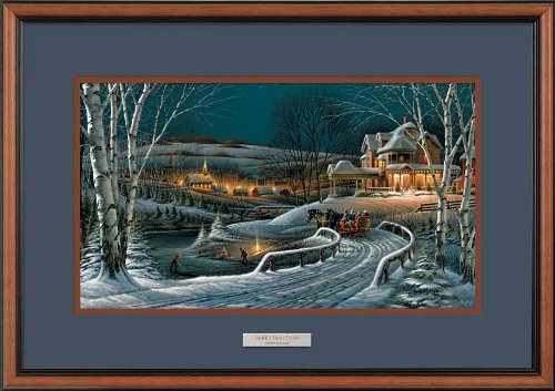 (Family Traditions Framed Encore Print by Terry Redlin )