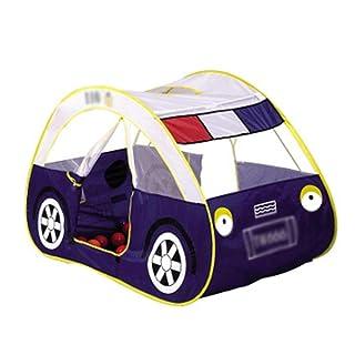 Yhjklm Tenda per Bambini Gioco per Bambini Auto della Polizia per Bambini Gioco Portatile Casa Giocattolo Piscina Coperta e Tenda all'aperto Tenda per Indoor Outdoor