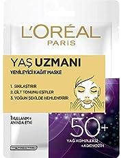 L'Oréal Paris Yaş Uzmanı Yenileyici Kağıt Maske 50+