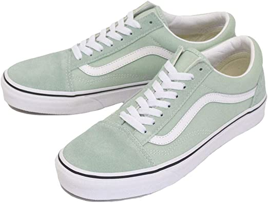 Vans Old Skool Aqua Haze/True White: Amazon.fr: Chaussures ...