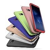 Samsung Galaxy S8 Case,IKASEFU 360 Full Body