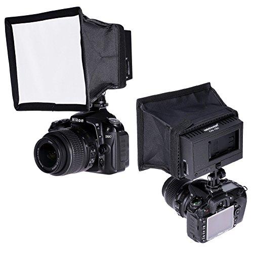 CN-160 LED Video Lighting (Black) - 5