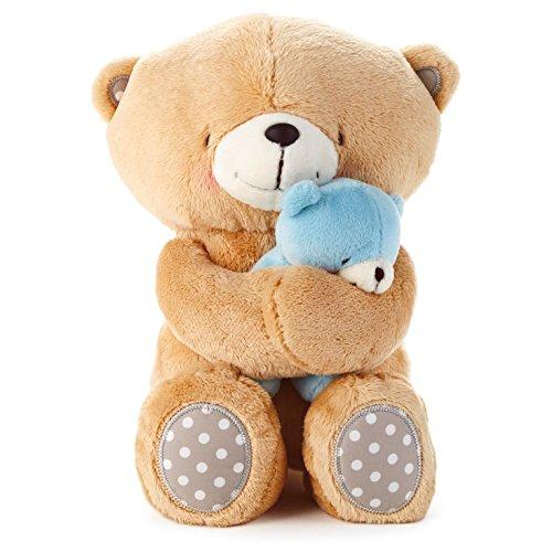 (Hallmark Forever Friends Boy Snuggle Bear Set )
