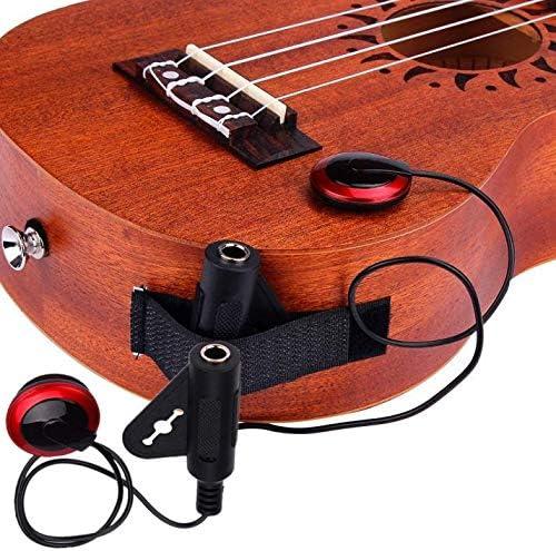 DingLong Micro Acoustique pi/ézo pour Guitare Violon ukul/él/é