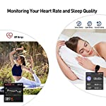 Smart Watch, Fitness Tracker with IP67 Waterproof, Heart Rate Monitor, Sleep Monitor, Smart Band, Step Counter,1.4 Inch… 9