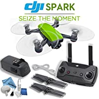 DJI Spark Quadcopter & Remote Controller Combo (Meadow Green)