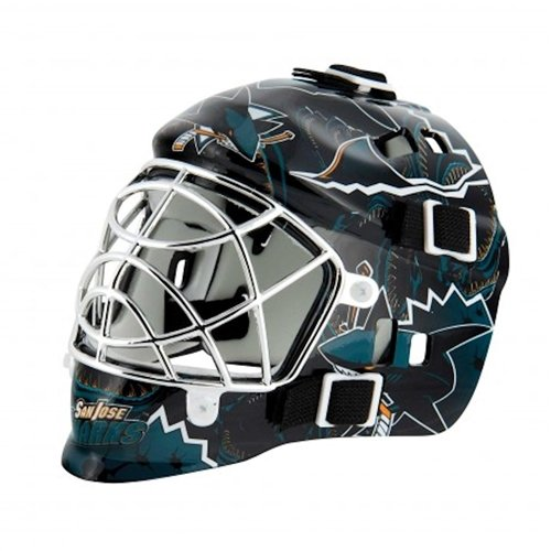 San Jose Sharks Franklin Mini Goalie Mask