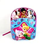 Disney Fairies Backpack - Blue and Pink Shaped Pocket