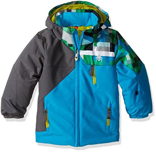 spyder-boys-mini-ambush-jacket-size-5-electric-blue-polar-pixel-electric-blue-print