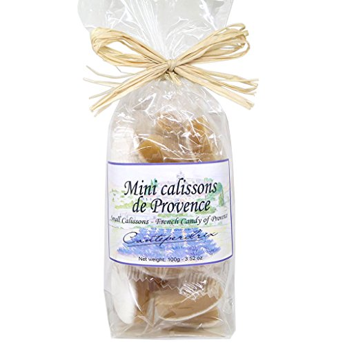 Canteperdrix Small Calissons (Calissou) - French Candy of Provence ()