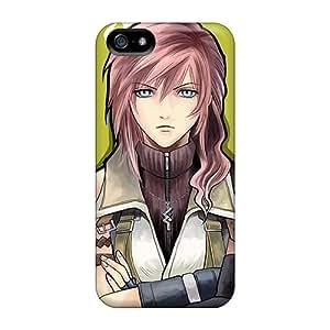 For Iphone 5/5s Fashion Design Yuna Lightning Tifa Cases-tnc35827gakE