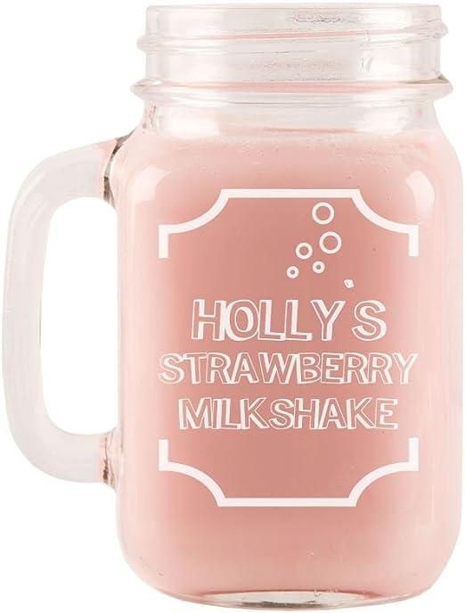Strawberry Milkshake En Verre De 909 Pot Children S Cadeau