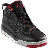 Nike Youth Air Jordan Dub Zero Boys Basketball Shoes Black/Gym Red/Wolf Grey 311047-013 Size 4
