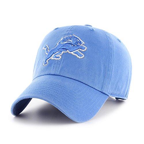 NFL Detroit Lions OTS Challenger Adjustable Hat, Blue Raz, One Size