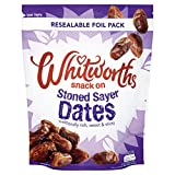 Whitworths Snack on Stoned Sayer Dates, 300g