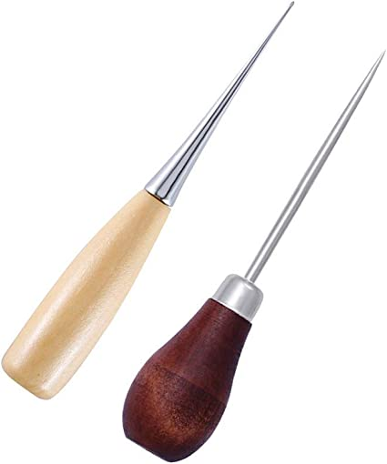 Wood Sewing Awl for leathercraft