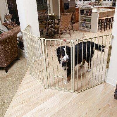 """Flexi Pet Gate Size: 30"""" H x 76"""" W"""