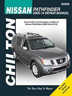 nissan pathfinder 2005 thru 2014 haynes repair manual editors of rh amazon com 2005 nissan pathfinder owner's manual 2005 nissan frontier repair manual