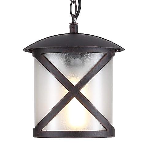 Exterior Lámpara de techo IP23 | lámpara E27 230 V ...