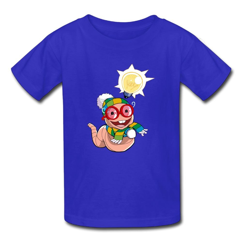 Moniery Short Sleeves Tshirts Happy Earthworm Baby Birthday Day Baby Girls Toddler