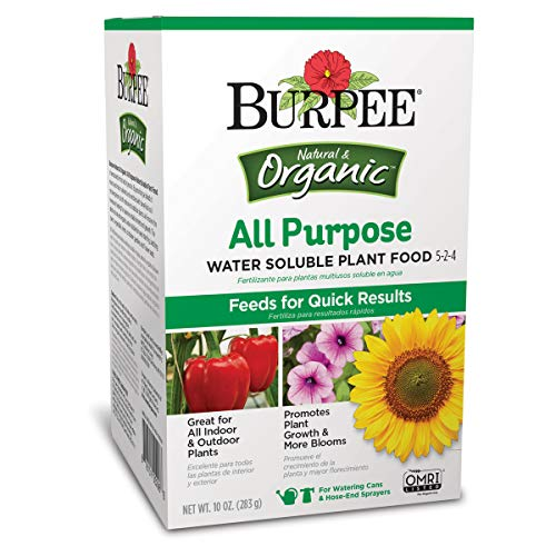 Burpee AP Purpose Water Soluble Plant Food, 10 oz, Organic