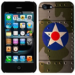 Apple iPhone 5 & 5S United States Army Air Corps War Plane Fuselage Phone Case Cover