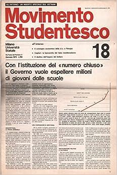 Movimento Studentesco: Gennaio 1973 N.18