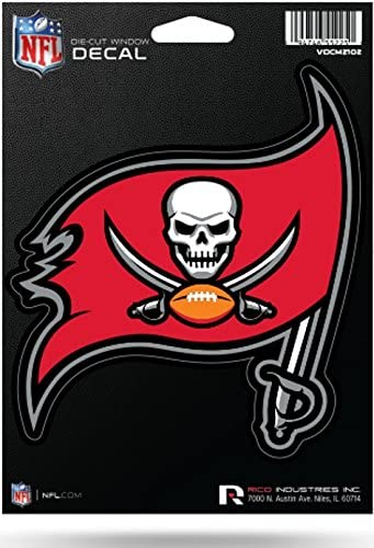 Buccaneers Football Tampa Bay Logo Decal 5 X 4
