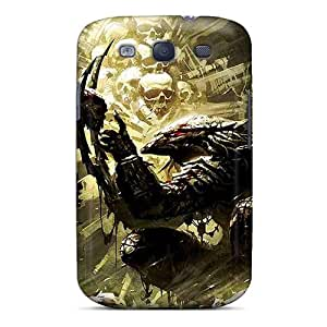 Galaxy S3 Case Cover - Slim Fit Tpu Protector Shock Absorbent Case (predator)