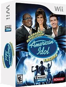 Karaoke Revolution Presents: American Idol Encore BUNDLE - Nintendo Wii
