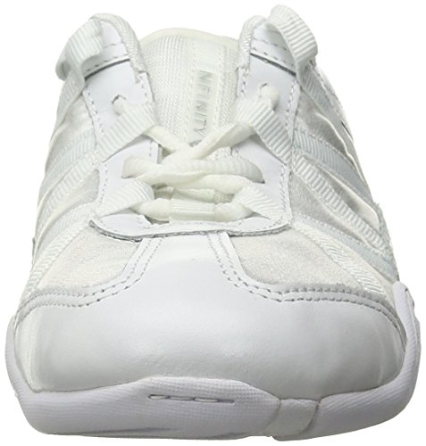 Nfinity Adult Evolution Cheer Shoes, White, 8.5 by Nfinity (Image #4)
