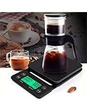 Decdeal Digital Kitchen Scale Food Scale 5kg/0.1g Multifunction Weight Scale High Accuracy Tare Weight Grams for Baking Cooking Coffee Bean