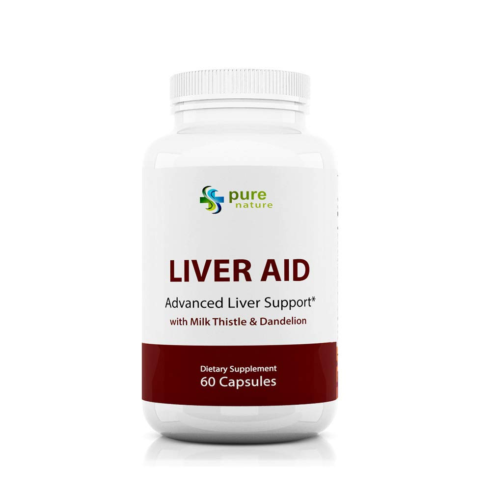 PureNature Liver Aid - with Milk Thistle and Dandelion