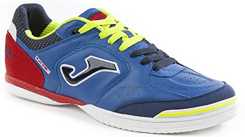 Zapatilla Joma Top Flex 704, Color Azul Marino / Rojo