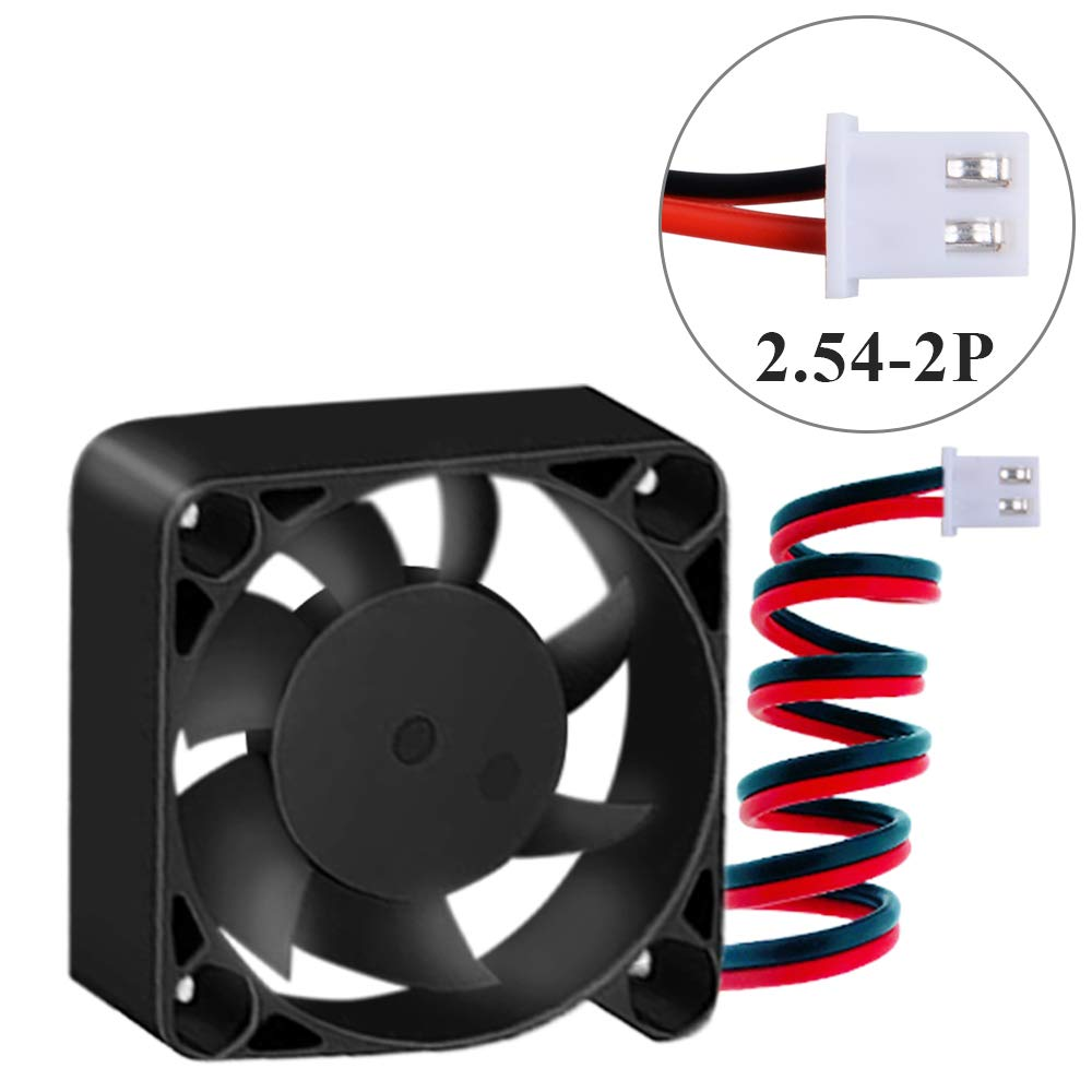 owootecc 4pcs 3D Printer Fan 12V 0.08A 40X40X10mm DC Cooling Fan with 28cm Cable for 3D Printer DVR /& Small Appliances Series Repair Replacement