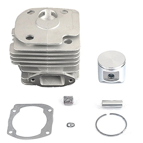 - Savior 48mm Big Bore Cylinder Head Piston Rebuild Kit Ring Pin Clips Assembly for Husqvarna 362 365 371 372 372XP Chainsaw