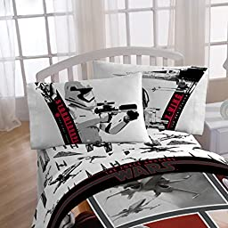 Star Wars Ep7 Live Action Red Microfiber Pillowcase