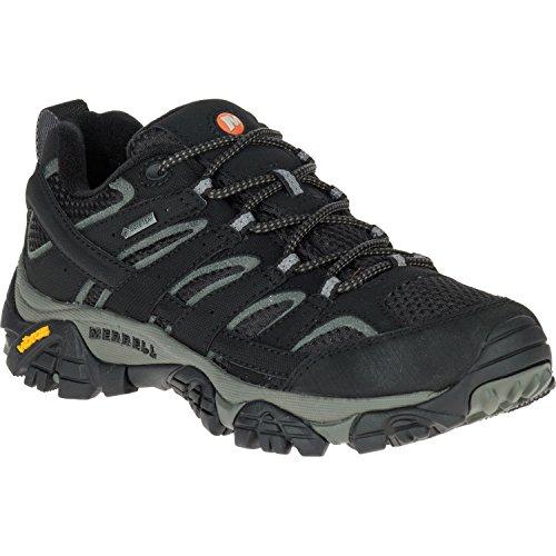 Merrell Moab 2 Gtx, Zapatillas de Senderismo para Mujer Negro (Black)