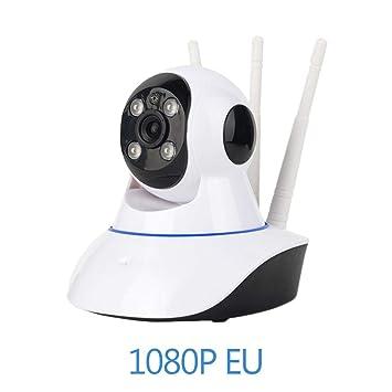 Flower205 Cámara de Vigilancia Wifi Tres Antenas Cámara de Seguridad HD 720P 1080P Video Vigilancia Visión